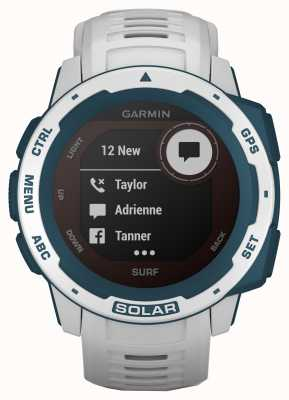 Garmin Cinturino in caucciù Instinct Solar Gps Surf Edition Cloudbreak 010-02293-08