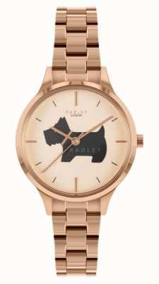 Radley Luogo Meridan | bracciale in acciaio inossidabile oro rosa | RY4530