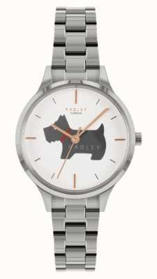 Radley Luogo Meridan | bracciale in acciaio inossidabile | quadrante motivo cane RY4519
