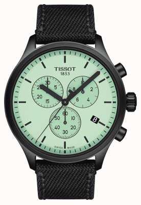 Tissot Mens | chrono xl | quadrante verde | cinturino in tessuto nero T1166173709100