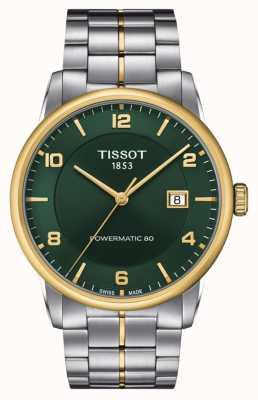 Tissot Powermatic di lusso 80 | quadrante verde | bracciale in acciaio inossidabile T0864072209700