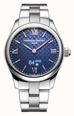 Frederique Constant Donna | vitalità | smartwatch | quadrante blu | acciaio inossidabile FC-286N3B6B