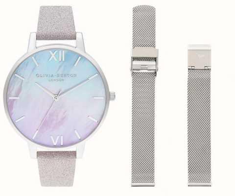 Olivia Burton Set di orologi con quadrante in madreperla Ombre OBGSET143