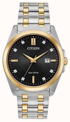 Citizen Orologio Corso Eco-Drive bicolore BM7107-50E