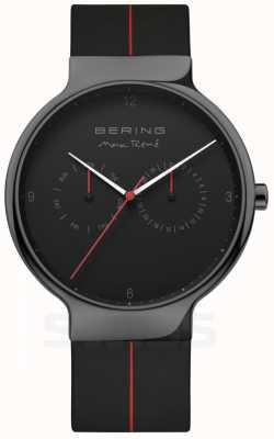 Bering Max rene maschile | cinturino in silicone nero | quadrante nero 15542-423