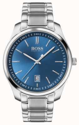 BOSS Circuit sport lux | bracciale in acciaio inossidabile | quadrante blu 1513731