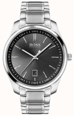 BOSS Circuit sport lux | bracciale in acciaio inossidabile | quadrante nero 1513730