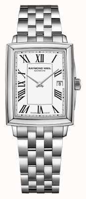 Raymond Weil Toccata femminile | bracciale in acciaio inossidabile | quadrante bianco 5925-ST-00300