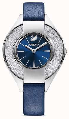 Swarovski Sportivo cristallino | cinturino in pelle blu | quadrante blu 5547629