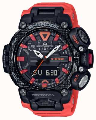Casio G-shock | gravitymaster | anima in carbonio | bluetooth | arancia GR-B200-1A9ER