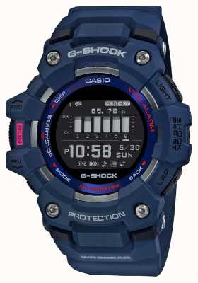 Casio G-shock | squadra g | steptracker | bluetooth | blu GBD-100-2ER
