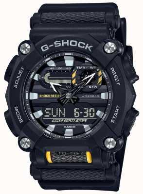 Casio G-shock | servizio pesante | ora mondiale | resina nera GA-900-1AER