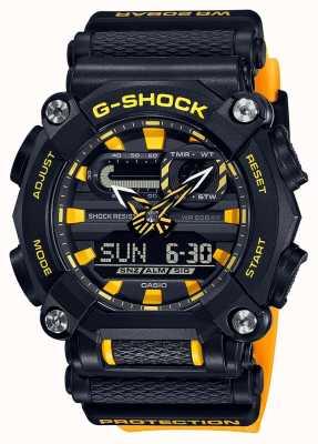 Casio G-shock | edizione ltd | servizio pesante | ora mondiale | giallo GA-900A-1A9ER