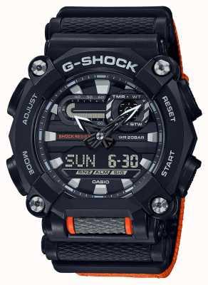 Casio G-shock | edizione ltd | pesante | ora mondiale | arancia GA-900C-1A4ER