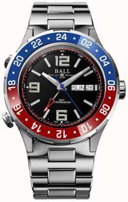Ball Watch Company Roadmaster marine gmt | ltd edizione | auto | quadrante nero DG3030B-S4C-BK