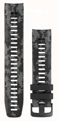 Garmin Cinturino per orologio mimetico istinto grafite 010-12854-27
