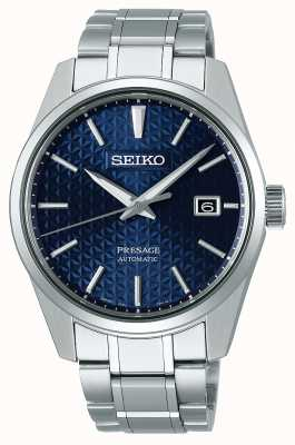 Seiko Presage | mens | blu | dail | acciaio inossidabile | orologio SPB167J1
