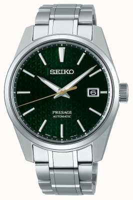 Seiko Presage | automatico | quadrante verde | acciaio inossidabile SPB169J1