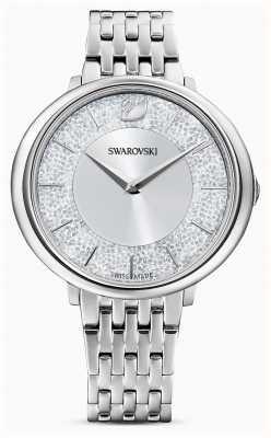 Swarovski Cristallino | bracciale in acciaio inossidabile | quadrante glitter argento 5544583