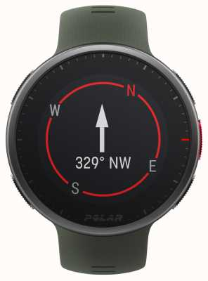 Polar | vantage v2 premium | orologio multisport | nero / verde | 90083653