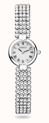 Michel Herbelin Perles | bracciale da donna in acciaio inossidabile | quadrante bianco 17433/B08