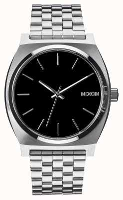 Nixon Cassiere del tempo | nero | bracciale in acciaio inossidabile | quadrante nero A045-000-00