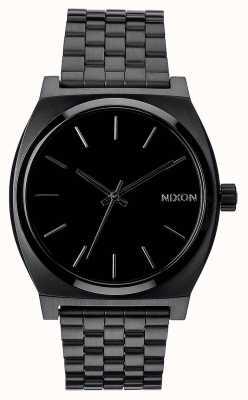Nixon Time teller | tutto nero | bracciale in acciaio ip nero | quadrante nero A045-001-00