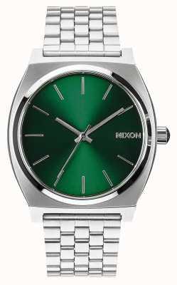Nixon Cassiere del tempo | raggio di sole verde | bracciale in acciaio inossidabile | quadrante verde A045-1696-00
