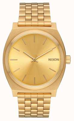 Nixon Time teller | tutto oro / oro | braccialetto ip oro | quadrante in oro A045-511-00