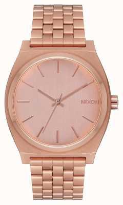 Nixon Time teller | tutto oro rosa | bracciale in oro rosa | quadrante in oro rosa A045-897-00