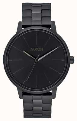 Nixon Kensington | tutto nero | braccialetto ip nero | quadrante nero A099-001-00
