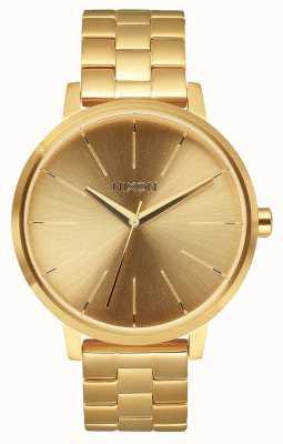 Nixon Kensington | tutto oro | bracciale in acciaio ip oro | quadrante in oro A099-502-00