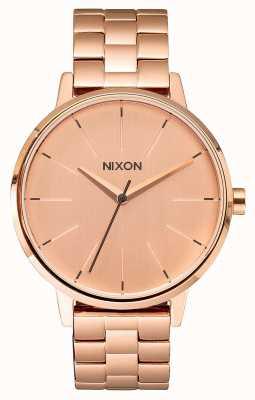 Nixon Kensington | tutto oro rosa | braccialetto ip oro rosa | quadrante in oro rosa A099-897-00
