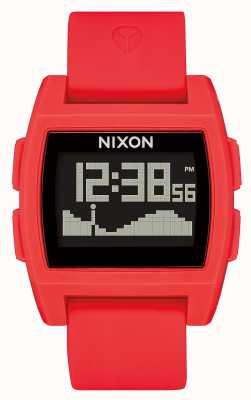 Nixon Marea di base | rosso | digitale | cinturino in silicone rosso A1104-200-00
