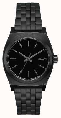 Nixon Cassiere medio | tutto nero | bracciale in acciaio ip nero | quadrante nero A1130-001-00