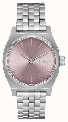 Nixon Cassiere medio | argento / lavanda chiaro | bracciale in acciaio inossidabile | A1130-2878-00
