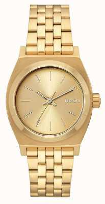 Nixon Cassiere medio | tutto oro | bracciale in acciaio ip oro | quadrante in oro A1130-502-00