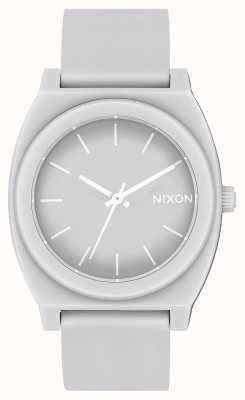Nixon Time teller p | grigio freddo opaco | cinturino in silicone grigio | quadrante grigio A119-3012-00