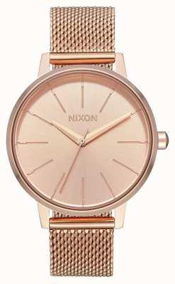 Nixon Kensington milanese | tutto oro rosa | rete ip oro rosa | quadrante in oro rosa A1229-897-00