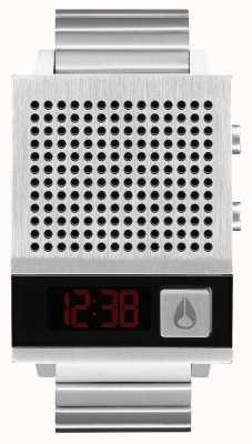 Nixon Anche Dork | nero | digitale | bracciale in acciaio inossidabile | parlando A1266-000-00