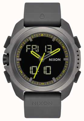 Nixon Ripley | canna di fucile | digitale | cinturino in tpu grigio canna di fucile | A1267-131-00