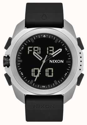 Nixon Ripley | argento / nero | digitale | cinturino in tpu nero A1267-625-00