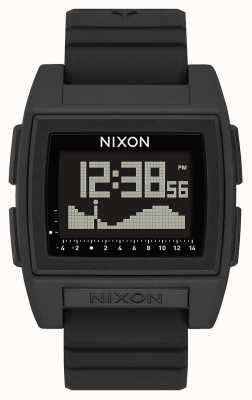 Nixon Base tide pro | nero | digitale | cinturino in silicone nero | A1307-000-00