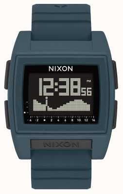 Nixon Base tide pro | ardesia scura | digitale | cinturino in silicone color ardesia A1307-2889-00