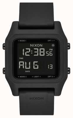 Nixon Staple | nero | digitale | cinturino in silicone nero A1309-000-00