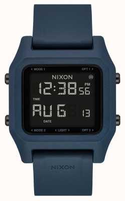 Nixon Staple | ardesia scura | digitale | cinturino in silicone color ardesia A1309-2889-00