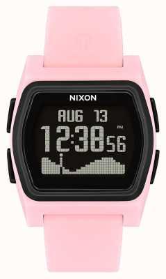 Nixon Rivale | rosa / nero | digitale | strao in silicone rosa A1236-2531-00