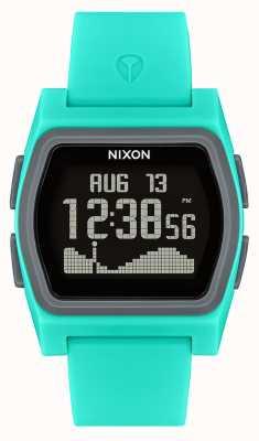 Nixon Rivale | turchese | digitale | cinturino in silicone turchese A1236-309-00