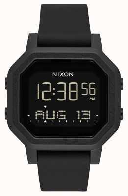 Nixon Sirena | tutto nero | digitale | cinturino in silicone nero A1311-001-00