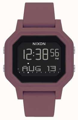 Nixon Sirena | borgogna | digitale | cinturino in silicone bordeaux A1311-234-00